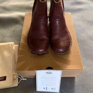 Brown Ankle Ugg Boots